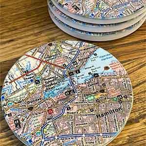 Local Map Coaster