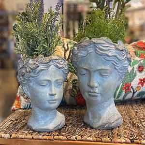 Godess Head Planters