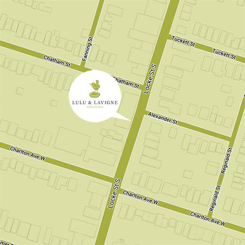 Location of LuLu & Lavigne